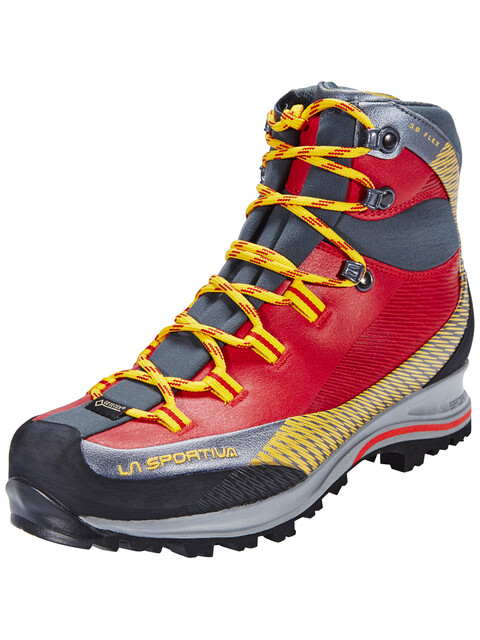 La Sportiva Trango TREK Leather GTX - Chaussures Femme - gris/rouge